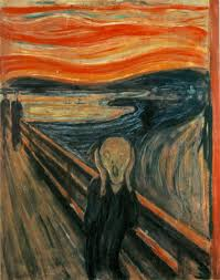 The Scream by Edvard Munch. 1893