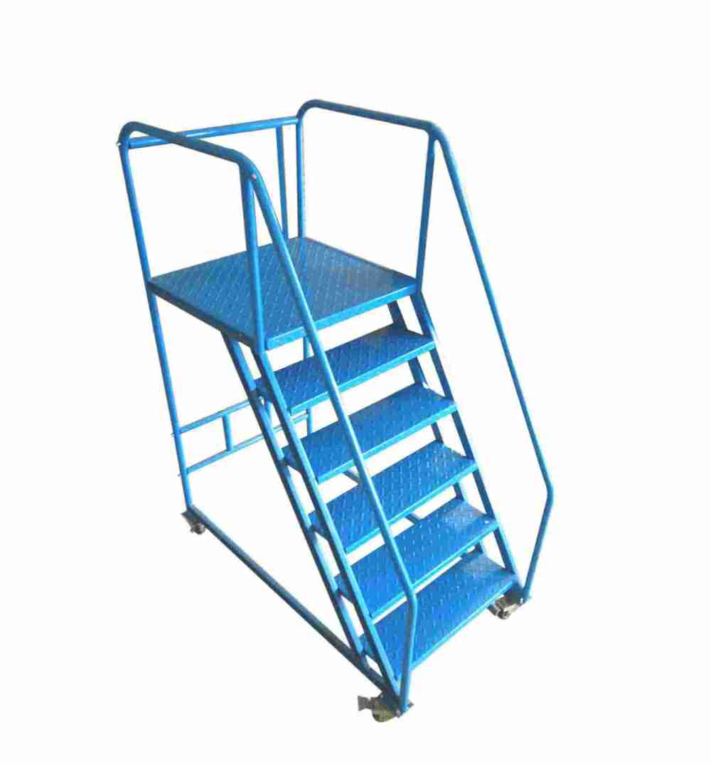 Warehouse-Rolling-Ladder-R-D01-
